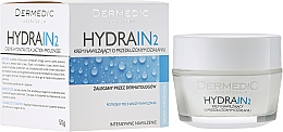 Perfumería y cosmética Crema facial hidratante con manteca de karité, glicerina y parafina líquida - Dermedic Hydrain 2 Cream