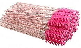 Perfumería y cosmética Cepillos desechables para cejas y pestañas, rosa - Deni Carte