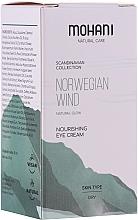 Perfumería y cosmética Crema contorno de ojos natural con aceite de oro escandinavo - Mohani Natural Care Norwegian Wind Nourishing Eye Cream