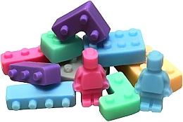 Perfumería y cosmética Jabón artesanal natural de glicerina infantil con manteca de karité y mango - LaQ Happy Soaps Lego