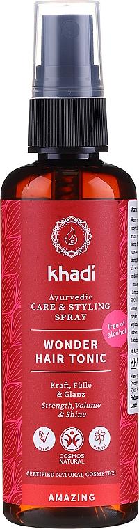 Tónico capilar a base de hierbas medicinales ayurvédicas - Khadi Wonder Hair Tonic