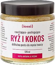 Perfumería y cosmética Pasta facial exfoliante con arroz y coco - Iossi