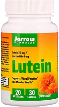 Perfumería y cosmética Complemento alimenticio en cápsulas de luteína, 20 mg - Jarrow Formulas Lutein 20mg