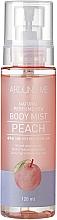 Perfumería y cosmética Bruma corporal hidratante con extracto de melocotón - Welcos Around Me Natural Perfume Vita Body Mist Peach