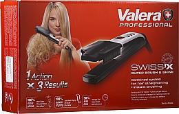 Perfumería y cosmética Plancha de pelo - Valera Swiss'x Super Brush & Shine