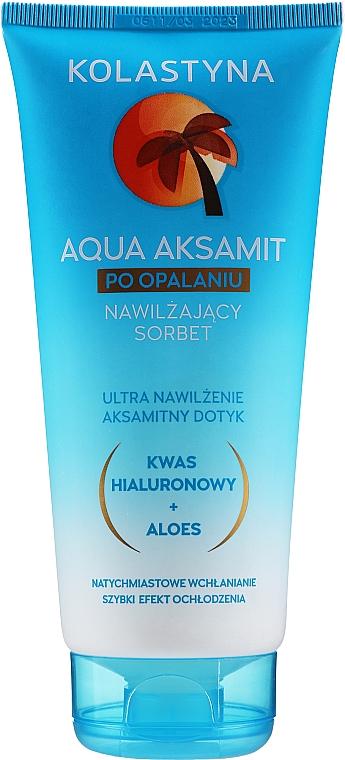 Loción aftersun hidratante con ácido hialurónico - Kolastyna Sun Care