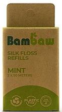Perfumería y cosmética Seda dental con menta - Bambaw (recarga)
