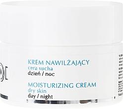 Perfumería y cosmética Crema facial hidratante con alantoína y pantenol - Uroda Moisturizing Face Cream For Dry Skin