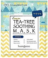 Perfumería y cosmética Mascarilla facial de tejido calmante con árbol de té - Huangjisoo Tea-Tree Soothing Mask