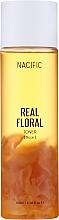 Perfumería y cosmética Tónico facial con extractos de rosa y centella asiática - Nacific Real Floral Rose Toner