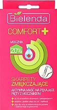 Perfumería y cosmética Tratamiento para aliviar los pies con aceite de macadamia - Bielenda Comfort+ Active Foot Mask with Socks