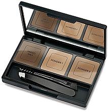 Perfumería y cosmética Kit para cejas con pinzas, aplicador y espejo - Golden Rose Eyebrow Styling Kit
