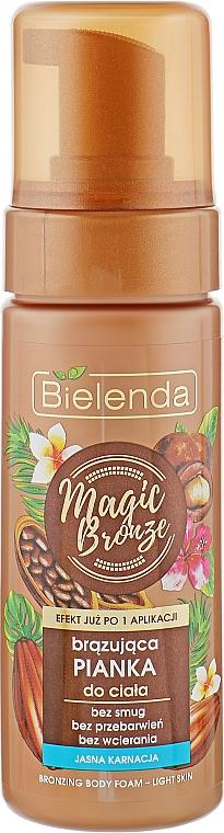 Espuma corporal bronceadora con caramelo - Bielenda Magic Bronze