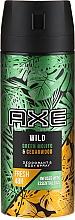 Perfumería y cosmética Desodorante antitranspirante - Axe Wild Green Mojito & Cedarwood