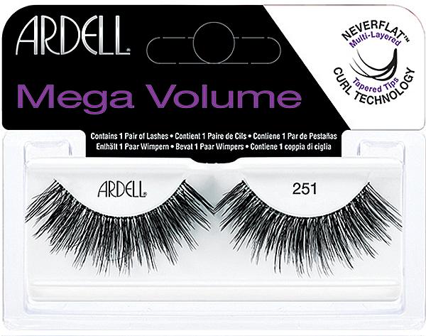 Pestañas postizas - Ardell Eyelashes Mega Volume 251 — imagen N1