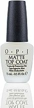 Perfumería y cosmética Top coat matificante - O.P.I Matte Top Coat