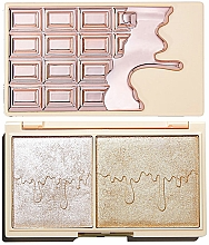 Perfumería y cosmética Paleta de iluminadores - I Heart Revolution Chocolate Rose Gold Glow