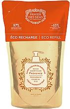 Perfumería y cosmética Jabón líquido de Marsella con aceite esencial de limón y ciprés - Panier des Sens Provence Liquid Marseille Soap (doypack)