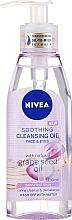 Perfumería y cosmética Aceite limpiador para piel sensible - Nivea Cleansing Oil Soothing Grape Seed
