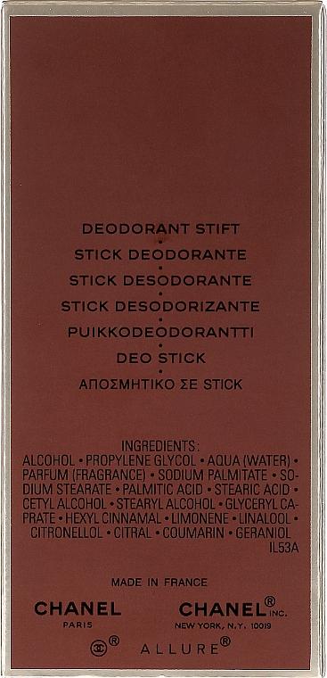 Chanel Allure Homme - Desodorante stick  — imagen N3