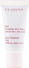 Gel contorno de ojos con avellana, trigo azul, aloe vera y camomila - Clarins Eye Contour Gel — imagen N2