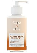 Perfumería y cosmética Gel nutritivo de limpieza facial con lavanda, camomila y malva - You & Oil Nourish & Nurture Face Wash