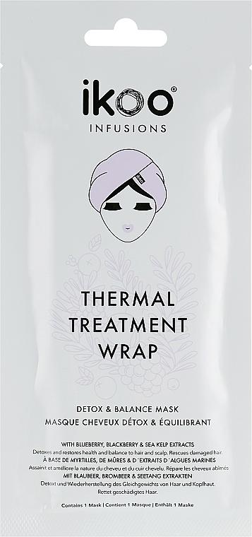 Tratamiento térmico hidratante en formato turbante - Ikoo Infusions Thermal Treatment Wrap