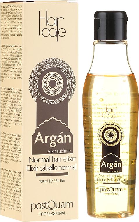 Elixir para cabello con aceite de argán - PostQuam Argan Sublime Hair Care Normal Hair Elixir — imagen N1