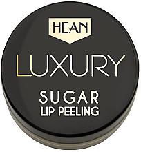 Perfumería y cosmética Exfoliante labial con aceite de nuez de macadamia, vitamina E - Hean Luxury Sugar Lip Peeling