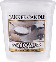 Perfumería y cosmética Vela aromática votiva - Yankee Candle Scented Votive Baby Powder