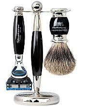 Perfumería y cosmética Set de afeitado (maquinilla de afeitar/1ud+ brocha/1ud+ sopote/1ud) - Taylor of Old Bond Street Fusion