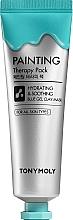 Perfumería y cosmética Mascarilla facial calmante con arcilla - Tony Moly Painting Therapy Pack Hydrating & Calming