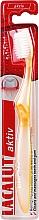 Perfumería y cosmética Cepillo dental suave, amarillo - Lacalut Aktiv