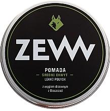 Perfumería y cosmética Pomada moldeadora para cabello con carbón activo - ZEW Pomade For Men