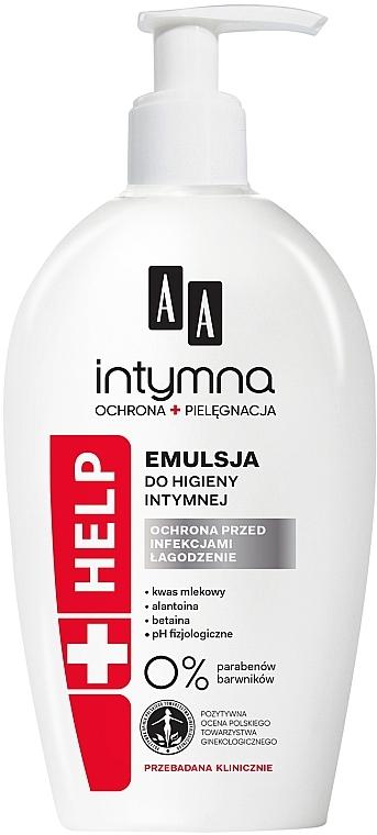 Gel para higiene íntima con ácido láctico y alantoína - AA Intimate Help+