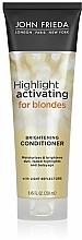 Perfumería y cosmética Acondicionador potenciador de color rubio con aceite de aguacate - John Frieda Sheer Blonde Highlight Activating Moisturising Conditioner