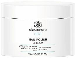 Perfumería y cosmética Crema de uñas con microplata y sericina - Alessandro International Spa Nail Polish Cream