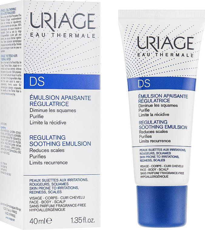 Emulsión calmante con agua termal de Uriage para rostro, cuerpo y cuero cabelludo - Uriage D.S. Emulsion — imagen N1