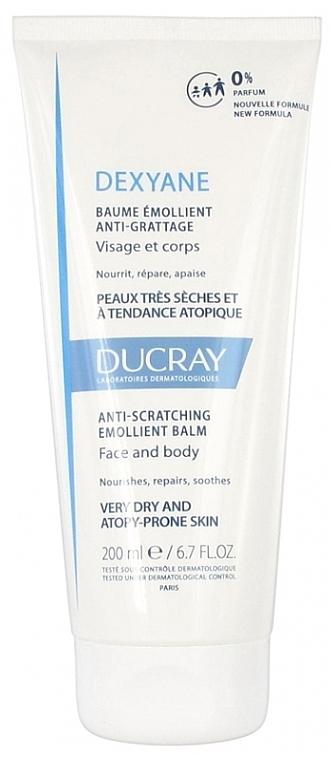 Bálsamo emoliente para rostro y cuerpo, pieles secas y atópicas - Ducray Dexyane Anti-Scratch Emollient Balm