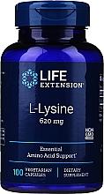 Perfumería y cosmética Complemento alimenticio de L-Lisina, 100 cápsulas - Life Extension L-Lysine