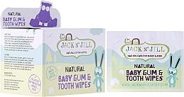 Perfumería y cosmética Toallitas infantiles para limpieza bucal de encias y dientes sin flúor - Jack N' Jill