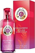 Perfumería y cosmética Roger & Gallet Gingembre Rouge - Agua fresca