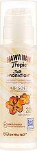 Perfumería y cosmética Loción protectora solar con extracto de papaya, SPF 30 - Hawaiian Tropic Silk Hydration Air Soft Sun Lotion SPF 30