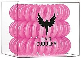 Perfumería y cosmética Coletero espiral de silicona, rosa - HH Simonsen Hair Cuddles Pink