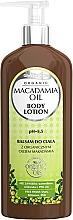 Perfumería y cosmética Bálsamo corporal con aceite de macadamia - GlySkinCare Macadamia Oil Body Lotion