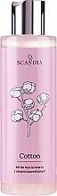 Perfumería y cosmética Gel de limpieza facial con aceite de semilla de algodón - Scandia Cosmetics Cotton Gel