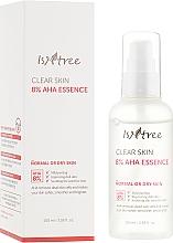 Perfumería y cosmética Esencia facial con 8% AHA ácidos - IsNtree Clear Skin 8% Aha Essence