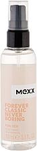 Perfumería y cosmética Mexx Forever Classic Never Boring for Her - Spray corporal de perfume con aroma floral-afrutado
