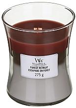 Perfumería y cosmética Vela aromática - WoodWick Hourglass Trilogy Candle Forest Retreat