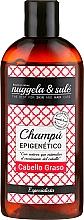 Perfumería y cosmética Champú epigenético con extracto de cebolla, aroma a heno y limón - Nuggela & Sule' Epigenetic Shampoo Oily Hair